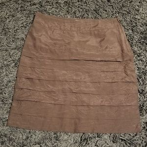 Brown H&M skirt
